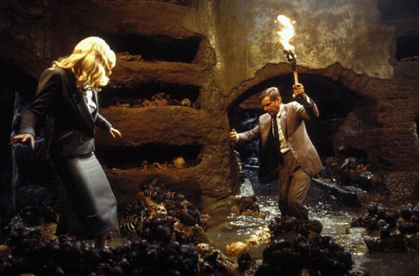 Alison Doody Harrison Ford Cave Scene