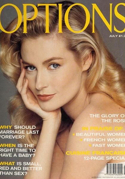 Alison Doody Magazine Cover